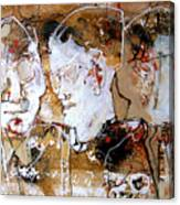 Three Advisors Canvas Print