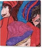 Three Directions Canvas Print