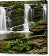Three Falls Of Tremont Canvas Print