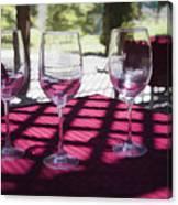 Three For Wine Canvas Print