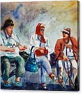Three In San Diego Canvas Print