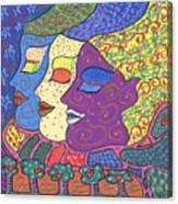 Three Maidens Canvas Print