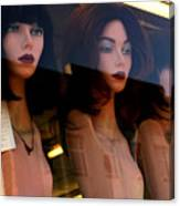 Three Mannequteers Canvas Print