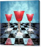 Three Of Cups Canvas Print