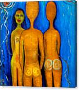 Three People Canvas Print