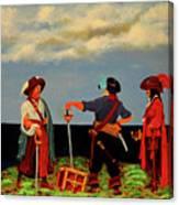 Three Pirates Canvas Print