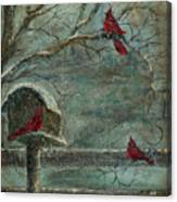 Three Reds Canvas Print