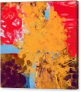 Three Rivers In The Sahara Canvas Print