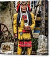 Three Rivers Indian Canvas Print