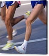 Three Runners Canvas Print