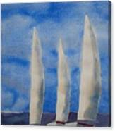 Three Sails Canvas Print