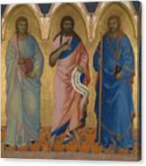 Three Saints Canvas Print