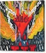 Three Swords Of 2016 Canvas Print