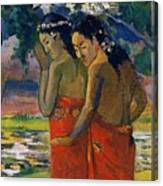 Three Tahitian Women Canvas Print