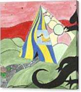 Three Wise Swans  Canvas Print