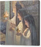 Three Wise Virgins Canvas Print