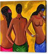 Three Women - 2 Canvas Print