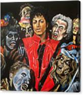 Thriller Canvas Print