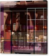 Through A Window Canvas Print