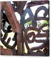 Through The Alphabet Canvas Print