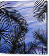 Through The Fronds Canvas Print