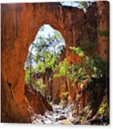 Through The Golden Arch Canvas Print