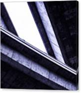 Through The Underpass Canvas Print