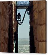The Messiah's Alley Canvas Print