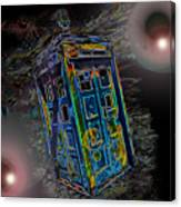Tardis - Through Time And Space Canvas Print