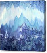 Through To Stillness Canvas Print