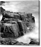 Thunder Along The Acadia Coastline - No 1 Canvas Print