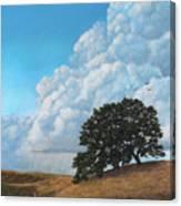 Thunder Clouds Mt. Diablo Canvas Print