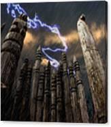 Thunder Mountain Canvas Print