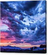 Thunder Storm Canvas Print