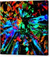 Thunder Through A Rainbow Canvas Print