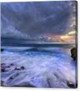 Thunder Tides Canvas Print