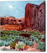 Thunderbird Butte Canvas Print