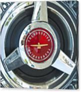 Thunderbird Rim Emblem Canvas Print