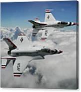 Thunderbirds Of The Future Canvas Print