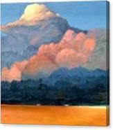 Thundercap Canvas Print