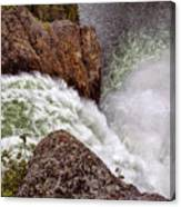 Thundering Waters Canvas Print