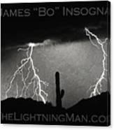 Thunderstorm Poster Print Canvas Print