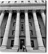 Thurgood Marshall United States Courthouse, Lower Manhattan New  Canvas Print