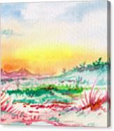 Thursday Canvas Print
