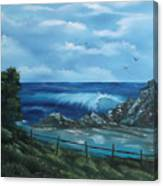 Tidal Eye Canvas Print