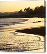 Tidal Sunset Canvas Print