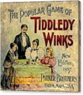 Tiddledy Winks Canvas Print