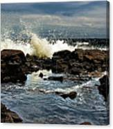 Tide Coming In Canvas Print
