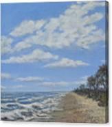 Tide Line Canvas Print