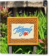 Tidepools Restaurant Canvas Print